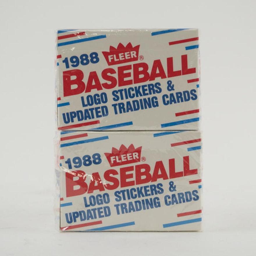 Factory Sealed 1988 Fleer Updated Baseball Card Sets