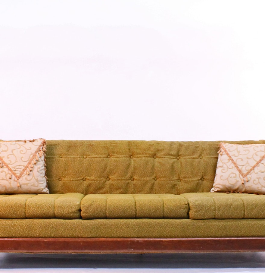 mid century adrian pearsall style sofa ebth. Black Bedroom Furniture Sets. Home Design Ideas
