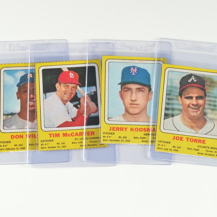 Very Rare 1960s Transogram Baseball Cards
