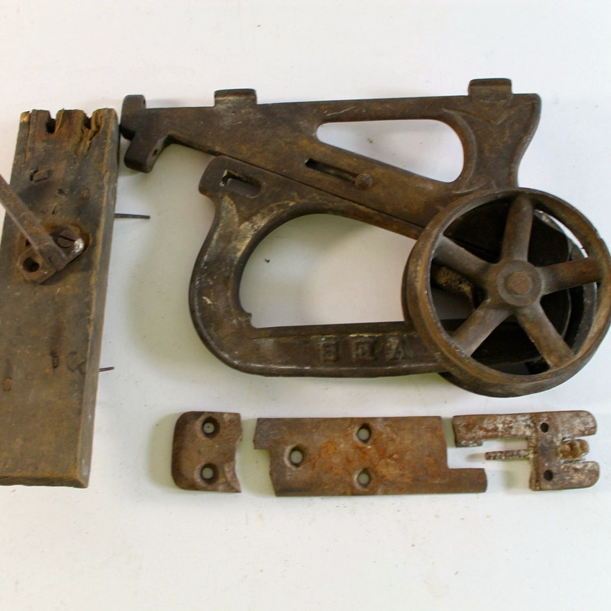 Antique Pocket Door Roller ... - Antique Pocket Door Roller : EBTH