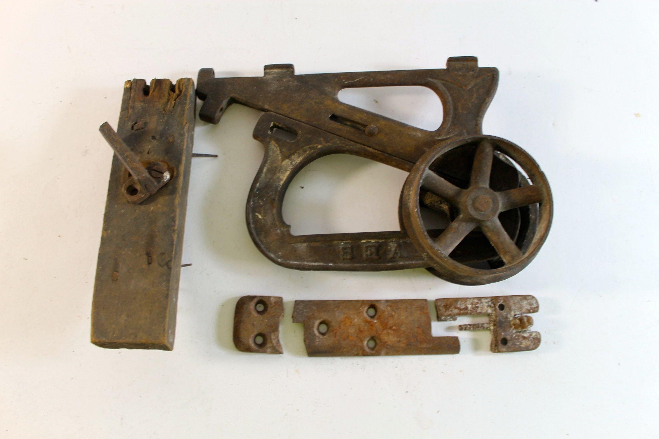 Antique Pocket Door Roller ...