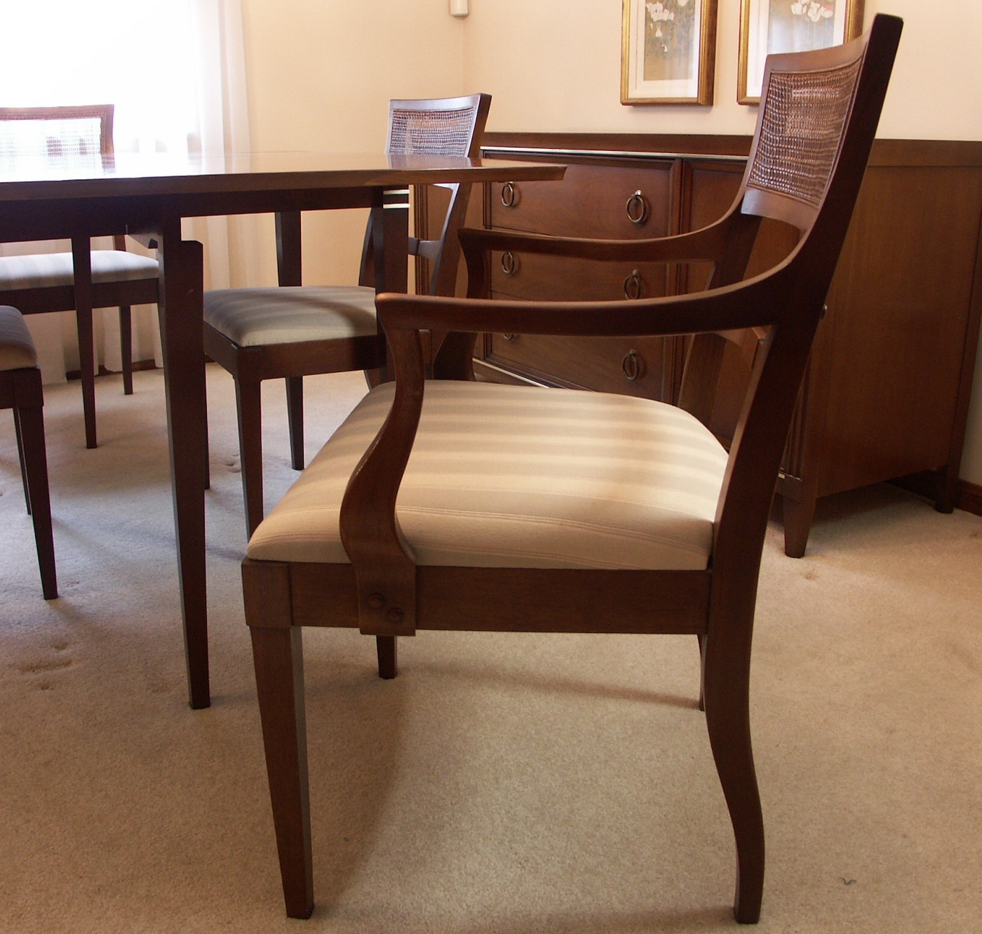 Mid-Century 'Interlude' Drexel Drop Leaf Dining Table And