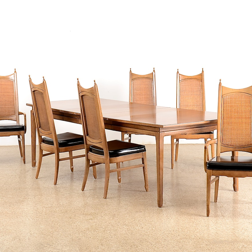 Fantastic 1970S Dining Room Table And Six Chairs Cjindustries Chair Design For Home Cjindustriesco