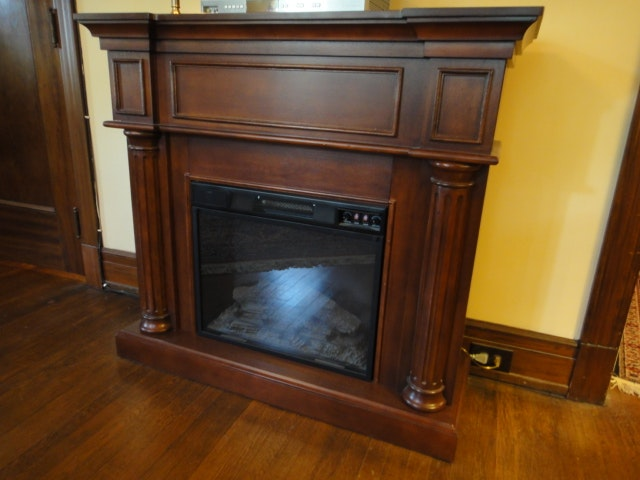 Style Selections Electric Fireplace Ebth