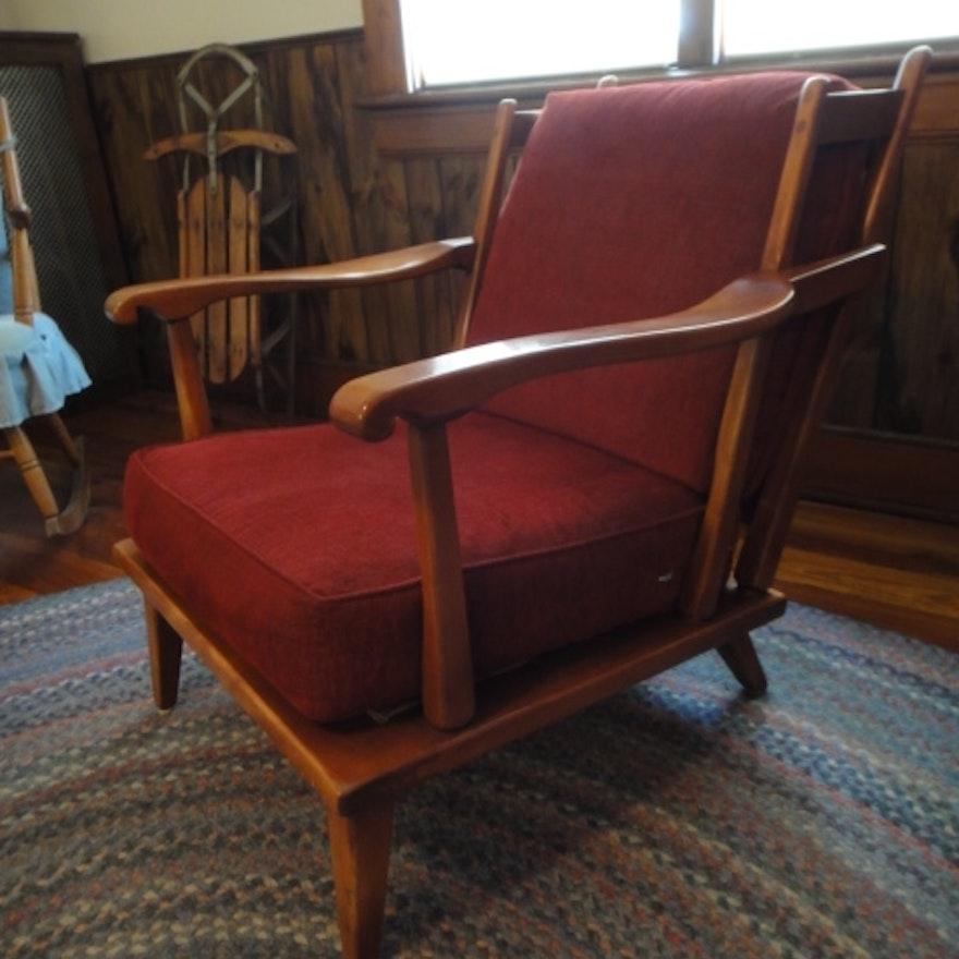 Colonial Armchair: Cushman Colonial Creations Armchair : EBTH