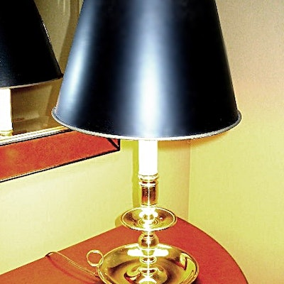 Antique floor lamps table lamps and light fixtures for Baldwin brass floor lamp shades