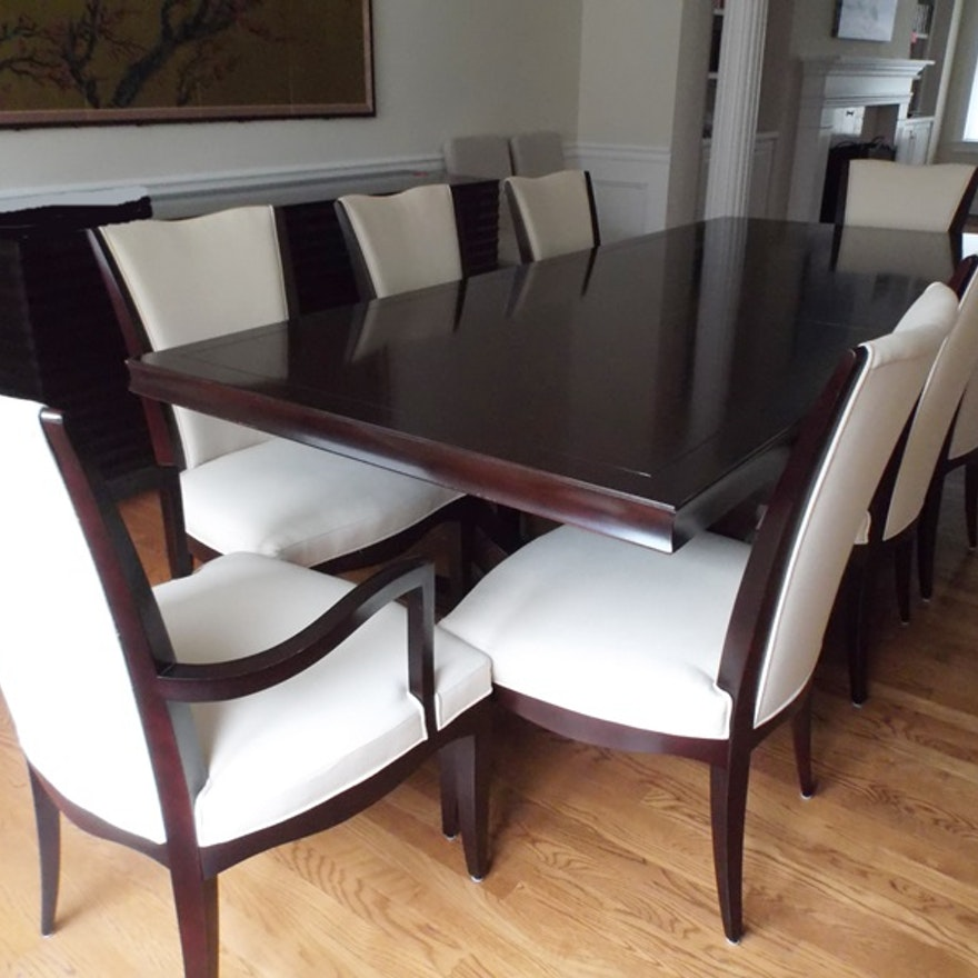 Baker barbara barry collection dining table ebth baker barbara barry collection dining table sxxofo