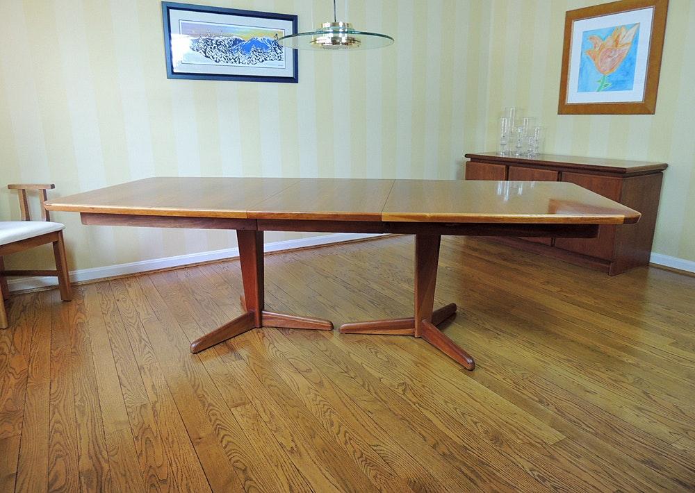 otmar handcrafted cherry dining table ebth