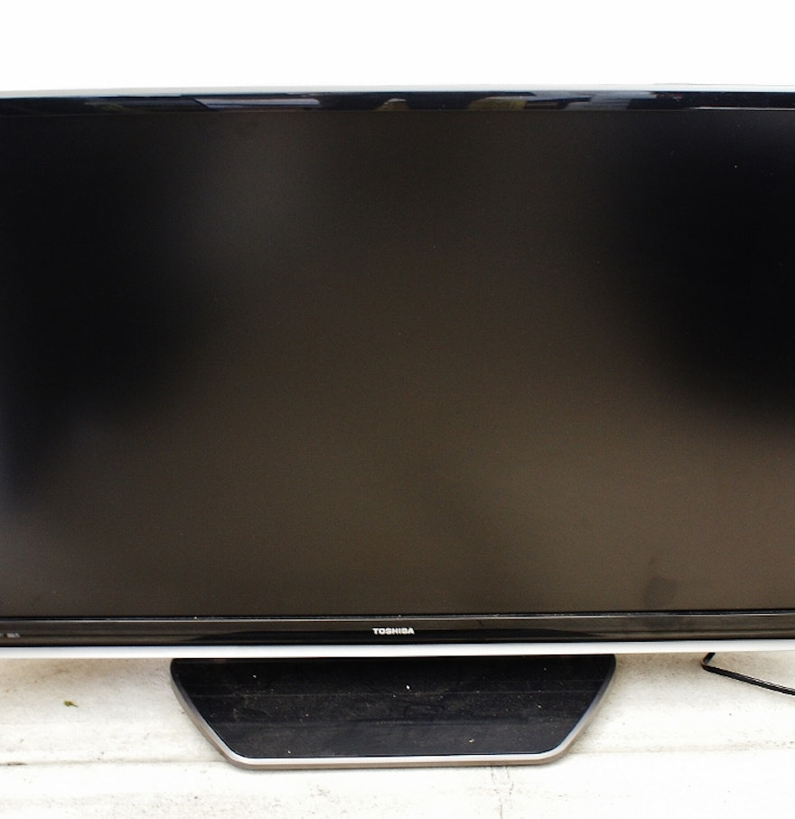 toshiba regza 40 flat screen lcd hgtv ebth. Black Bedroom Furniture Sets. Home Design Ideas