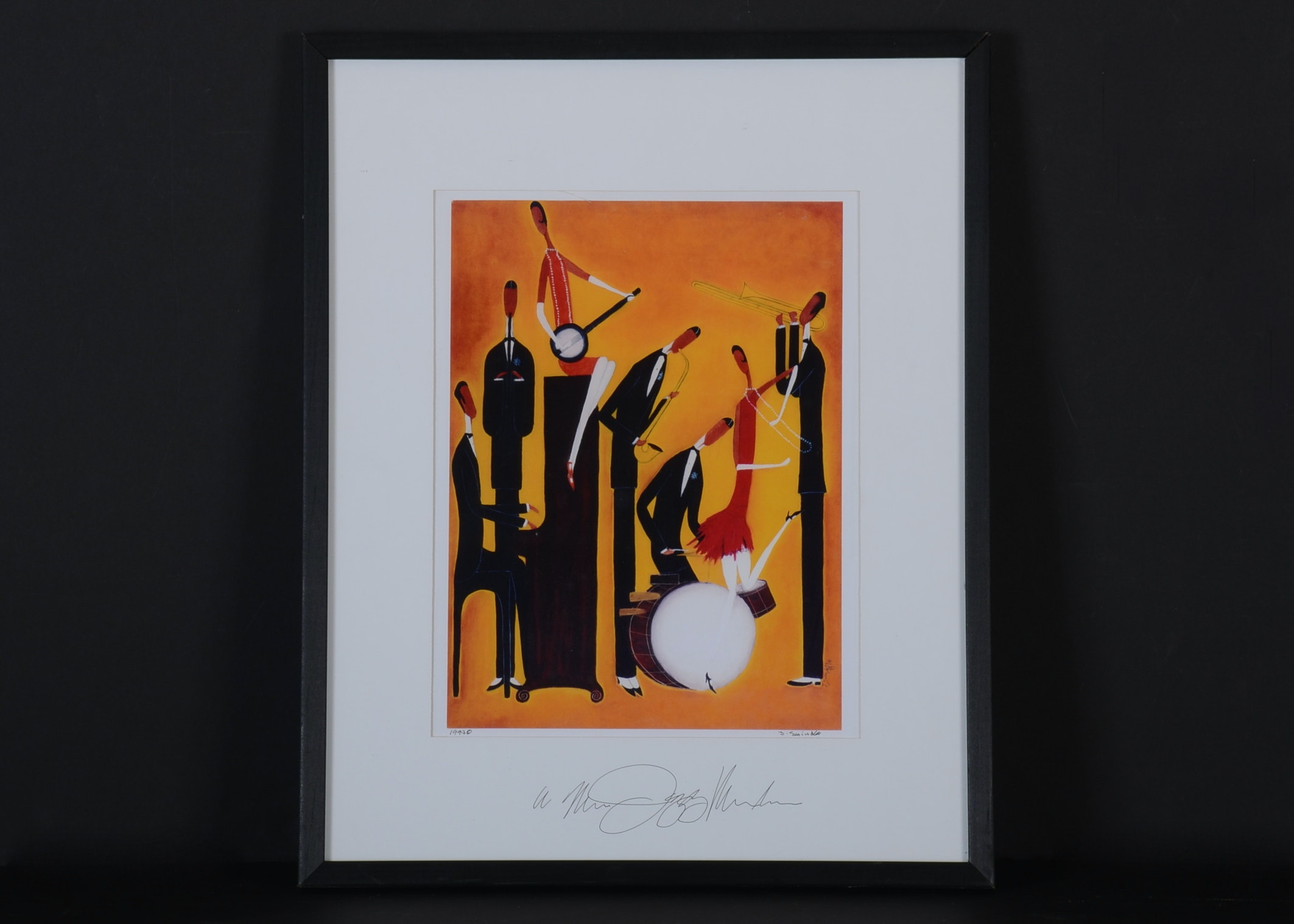 Signed Print By Artist John Swindell Ebth