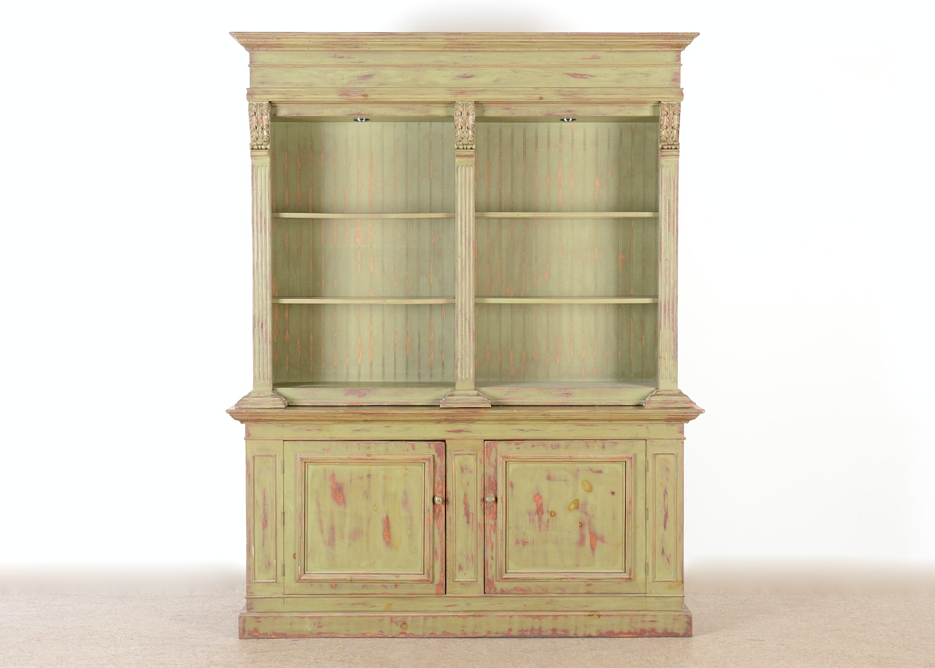 Delightful Eddy West Double English Collection Cabinet ...