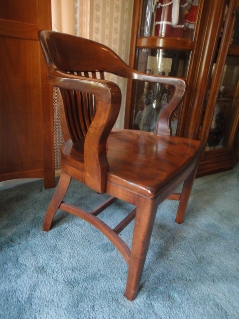 Vintage Chair By B. L. Marble Chair Co.