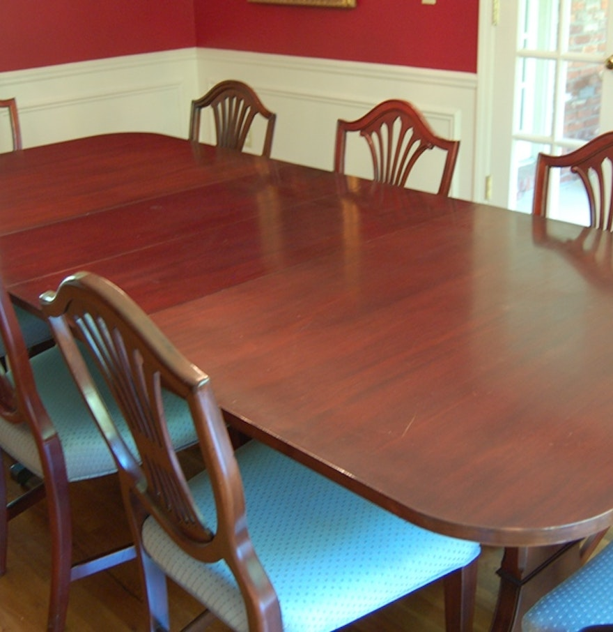 Grand Rapids Furniture Makers Guild Dining Table For 14 Ebth