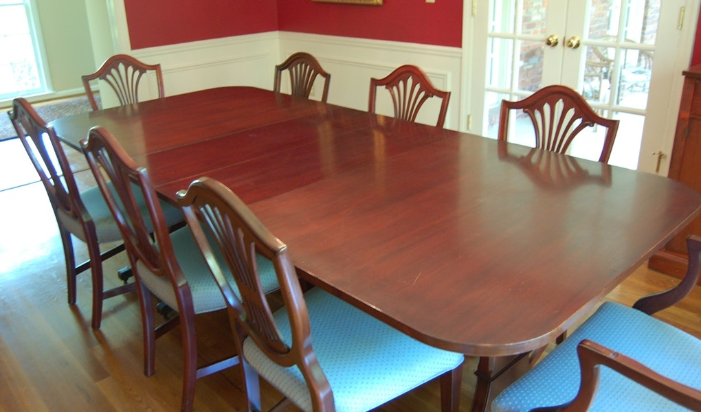 Grand Rapids Furniture Makers Guild Dining Table For 14 ...