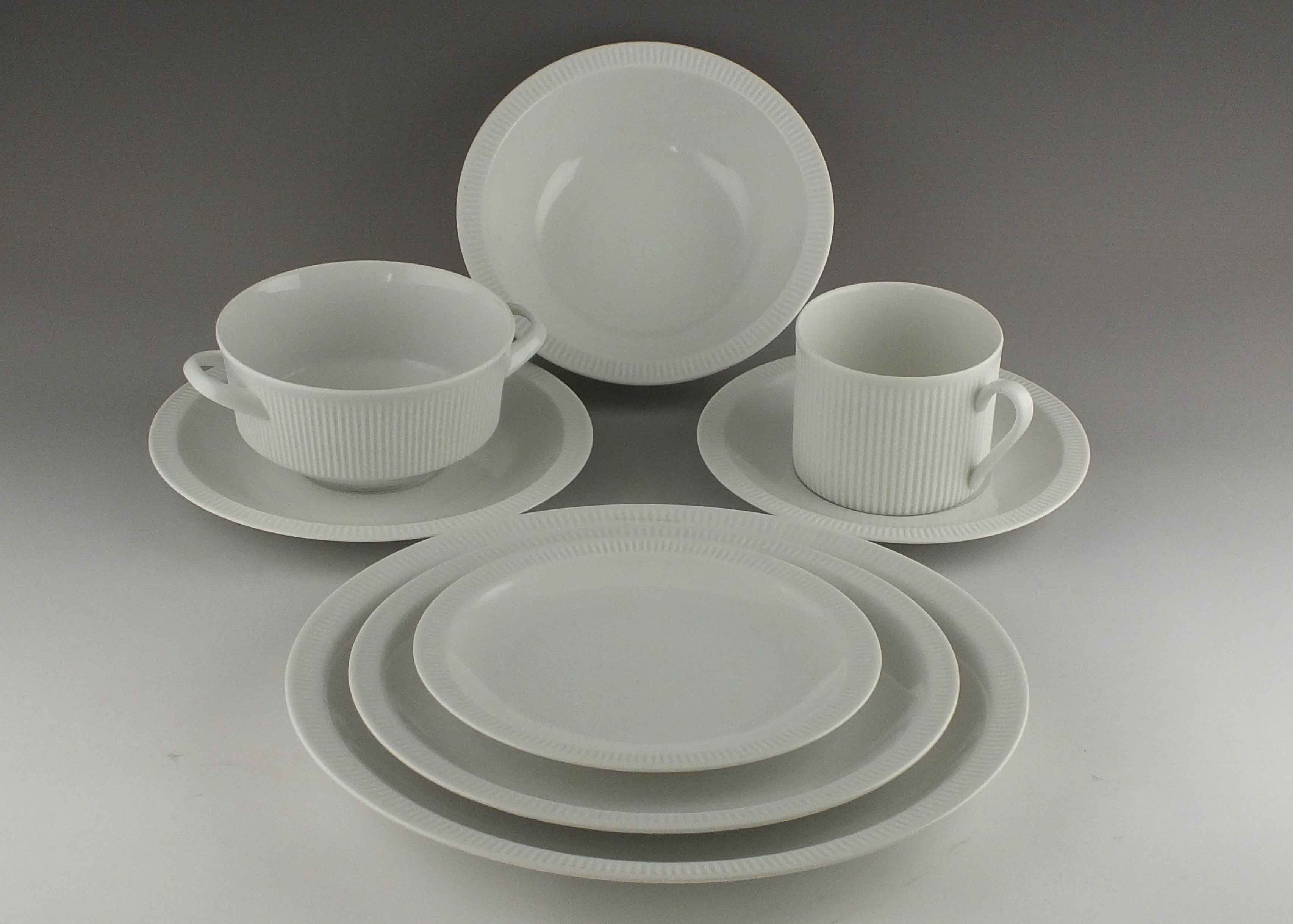 Arzberg  White Athena  China Service ... : athena dinnerware collection - pezcame.com