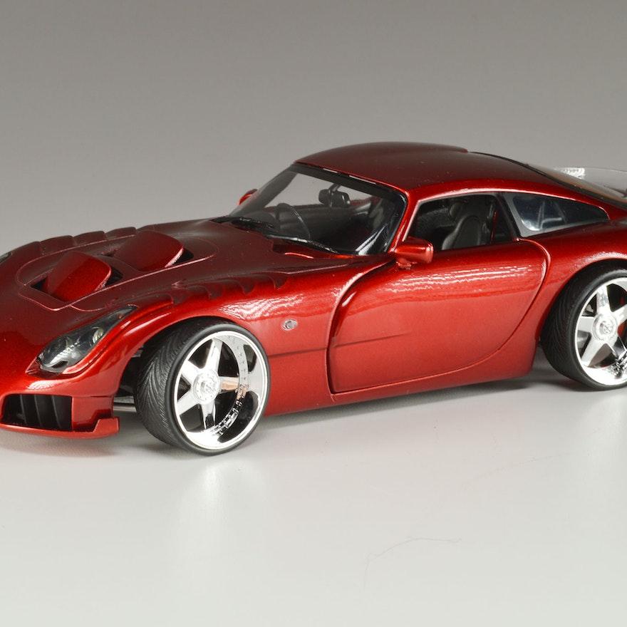 Jadi Tvr Sagaris Die Cast Model Car Ebth