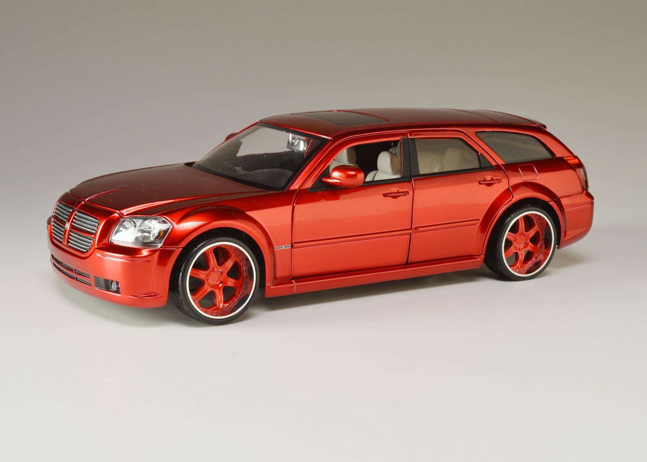 jada 2006 dodge magnum r/t die-cast model car : ebth