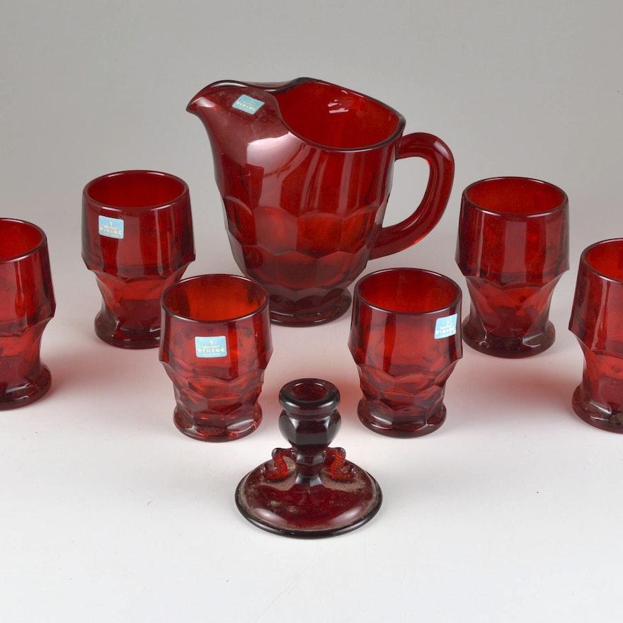 Assorted Viking Handmade Glass Ebth