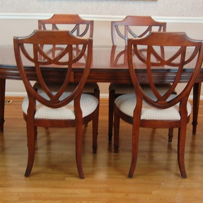Online furniture auctions nichols and stone dining room for Dining room furniture auctions