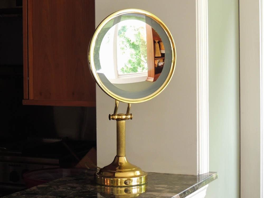 Nova Ton Jon Lighted Magnifying Make Up Mirror : EBTH