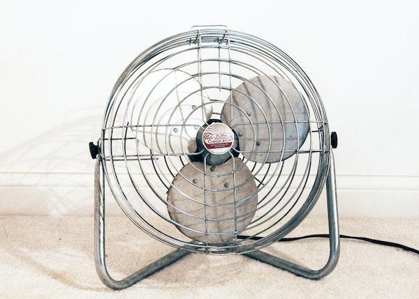 Industrial Air Circulator Patton : Vintage industrial metal patton air circulator floor fan