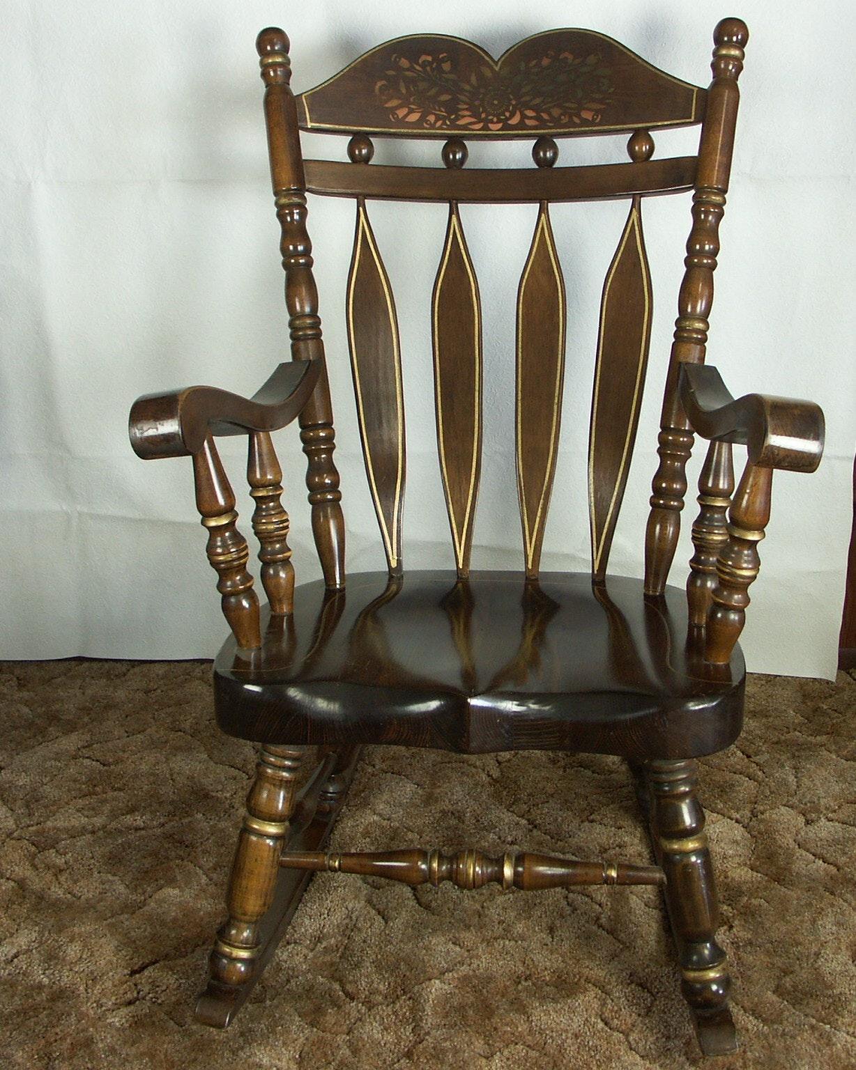 Large Pine Rocking Chair ...