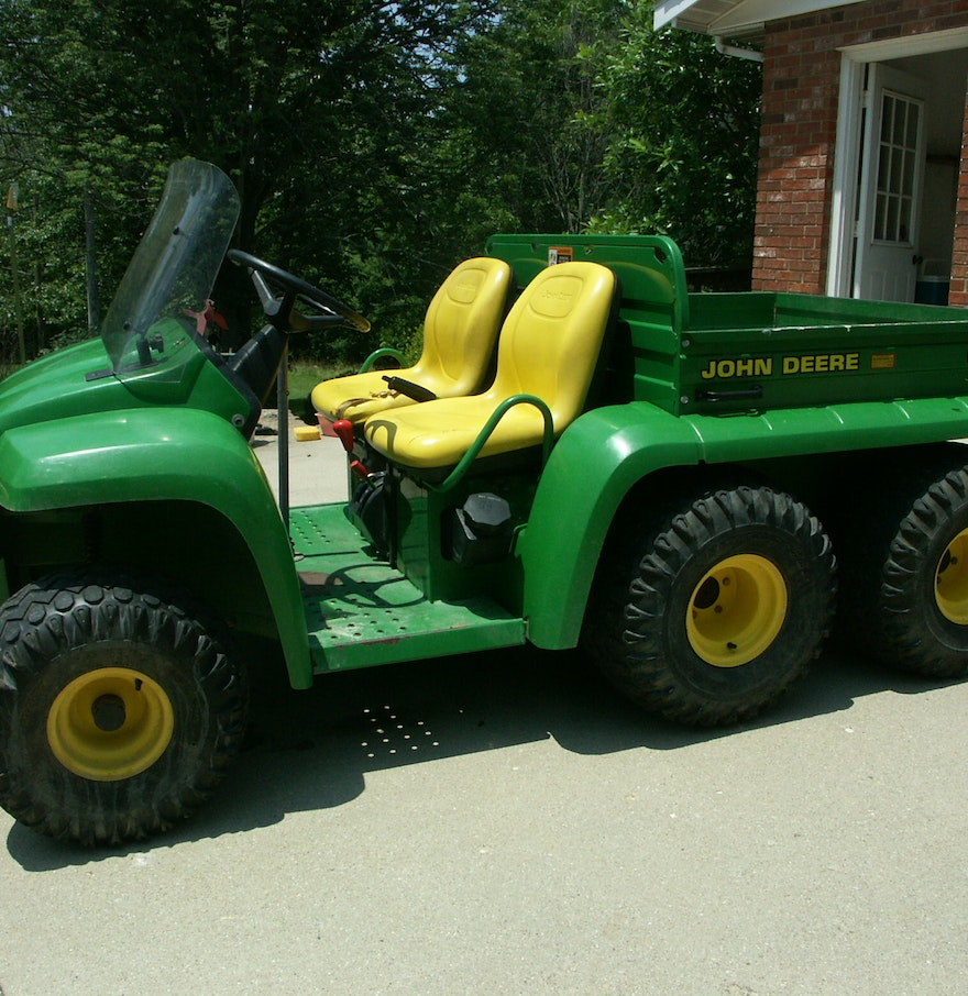 john deere gator 6x4 utility vehicle ebth. Black Bedroom Furniture Sets. Home Design Ideas