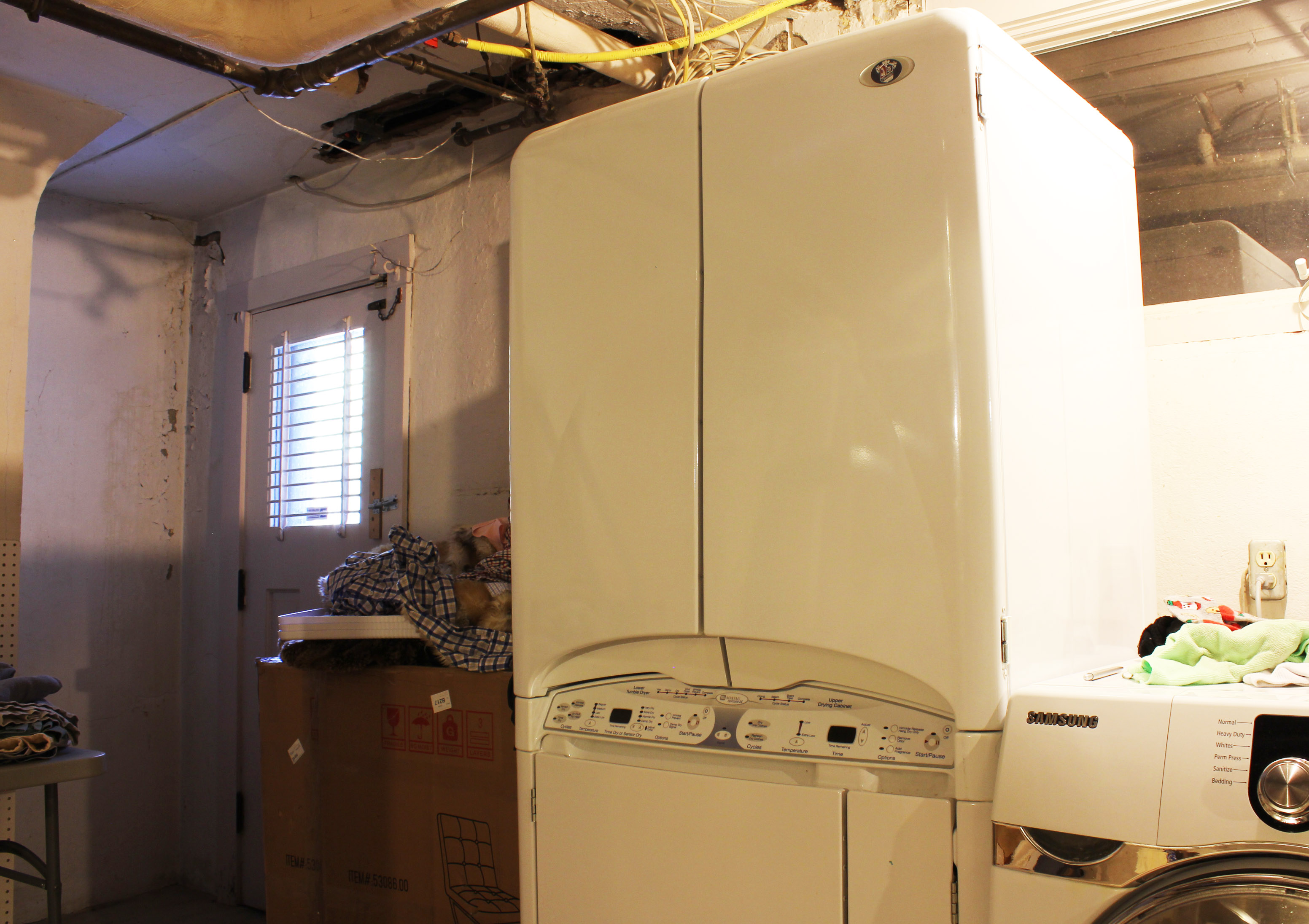 Maytag Neptune DC with Upper Drying Cabinet : EBTH