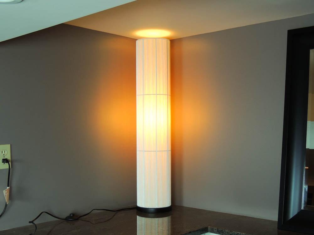 crate & barrel violin floor lamp : ebth