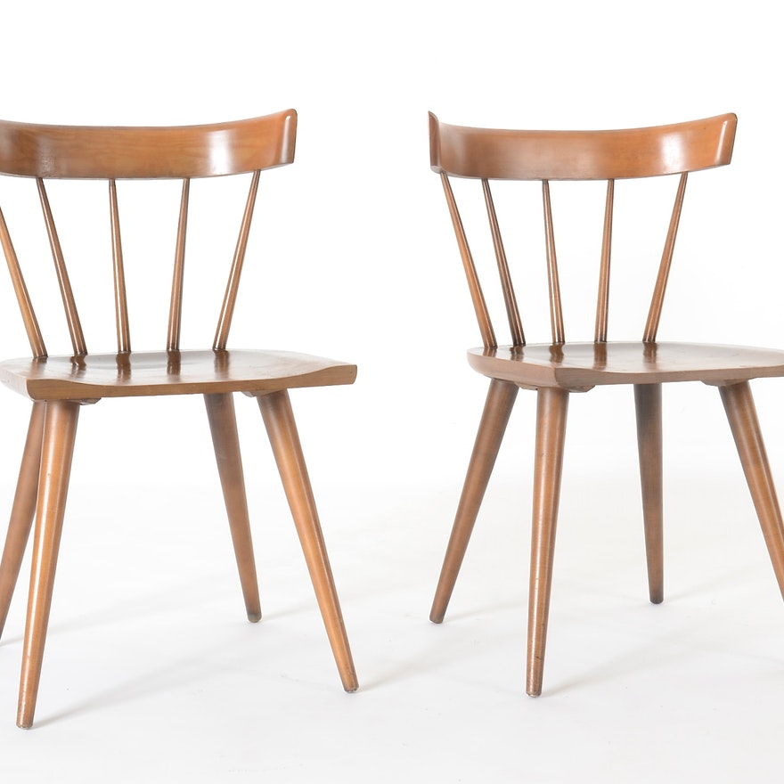 Paul Mccobb Planner Group Windsor Style Chairs