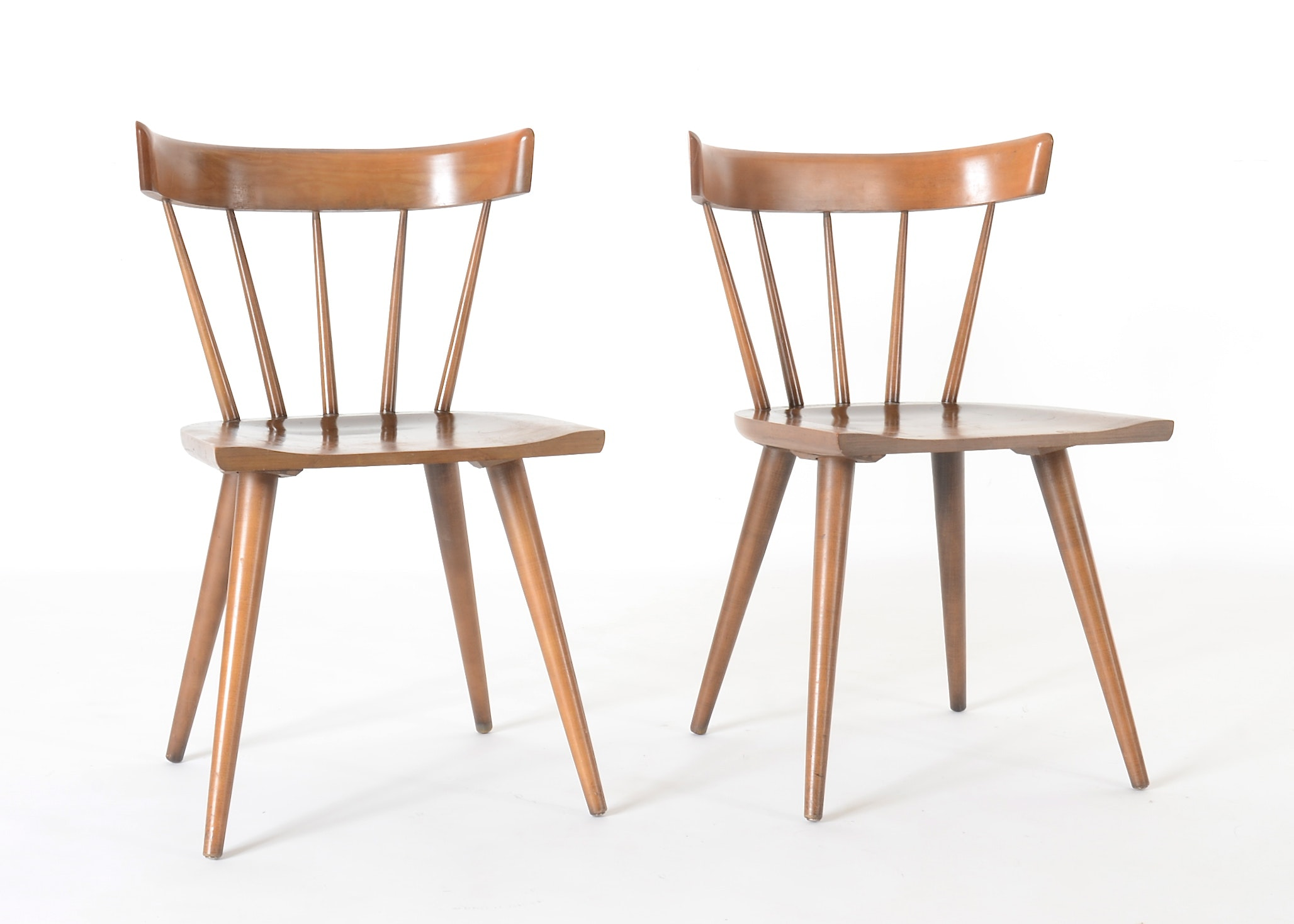 Paul McCobb Planner Group Windsor Style Chairs ...