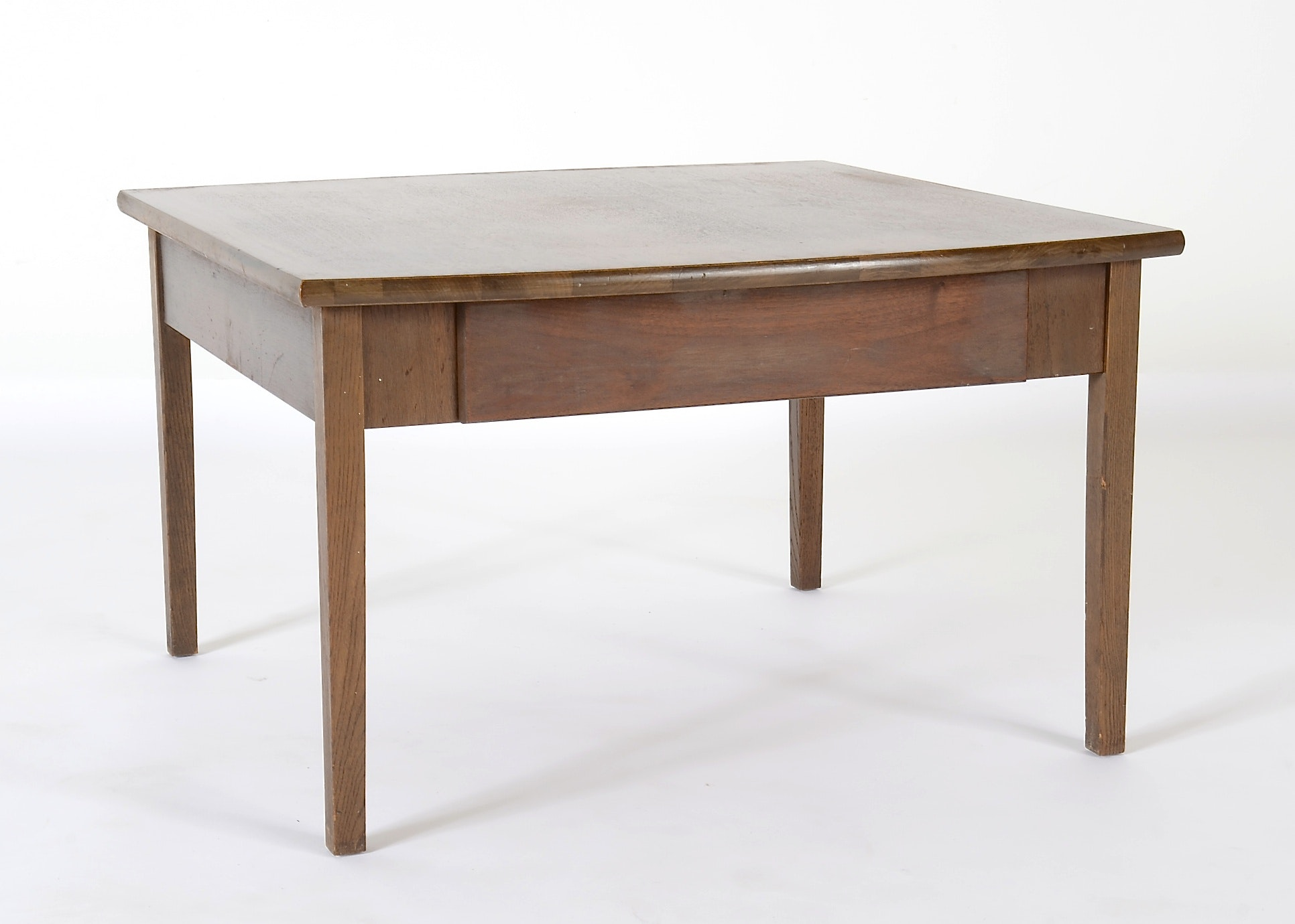 Distinctive Furniture By Stanley Square Walnut Coffee Table