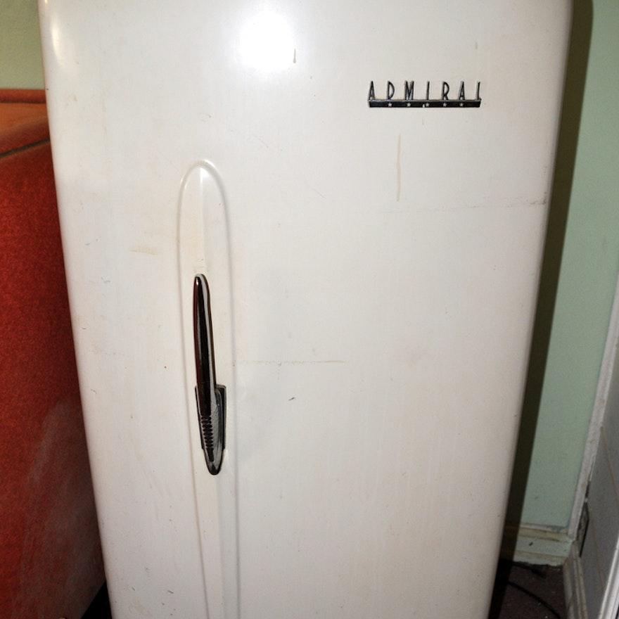 Vintage Admiral Refrigerator EBTH