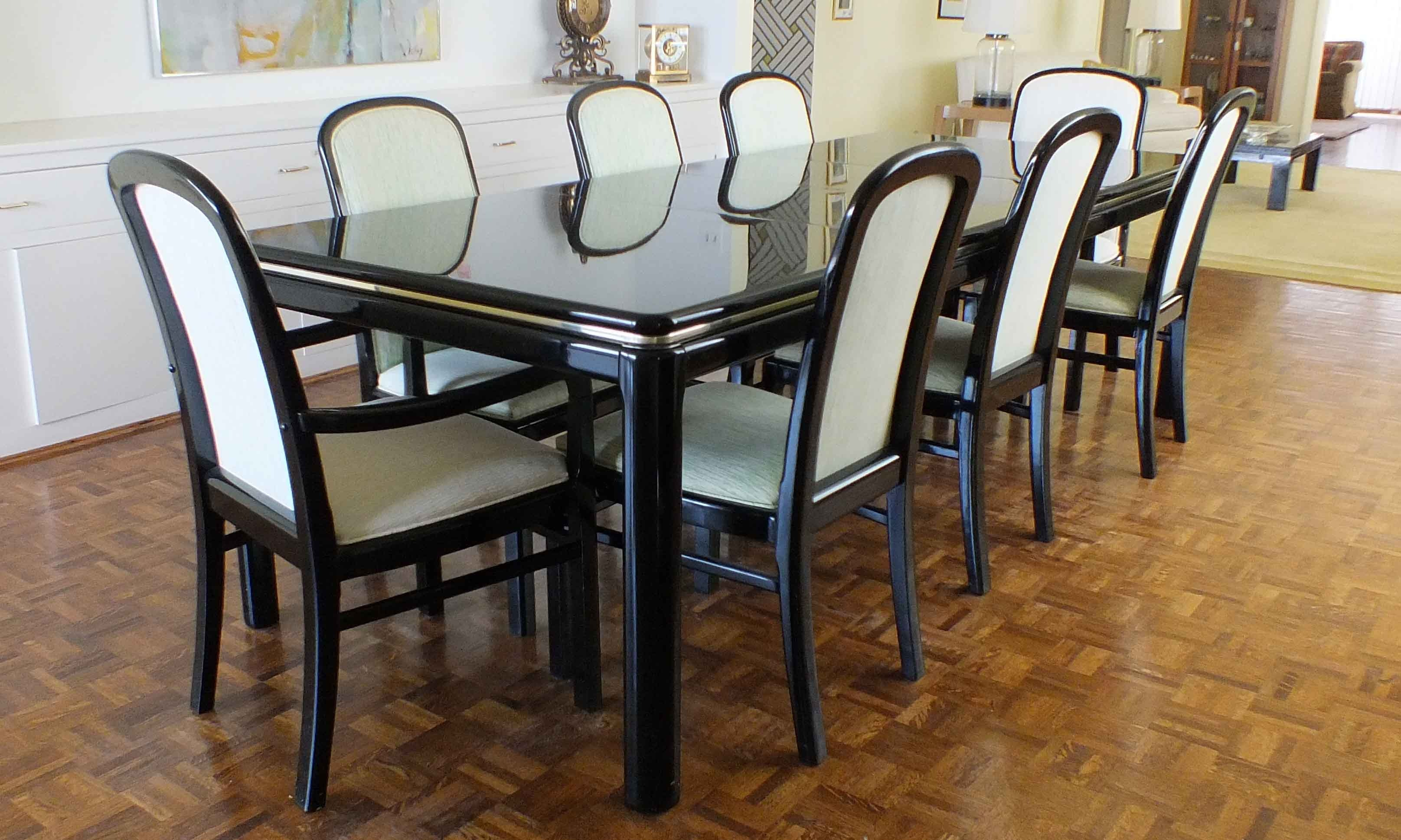 Black Lacquer Dining Room Table Dining Room Ideas