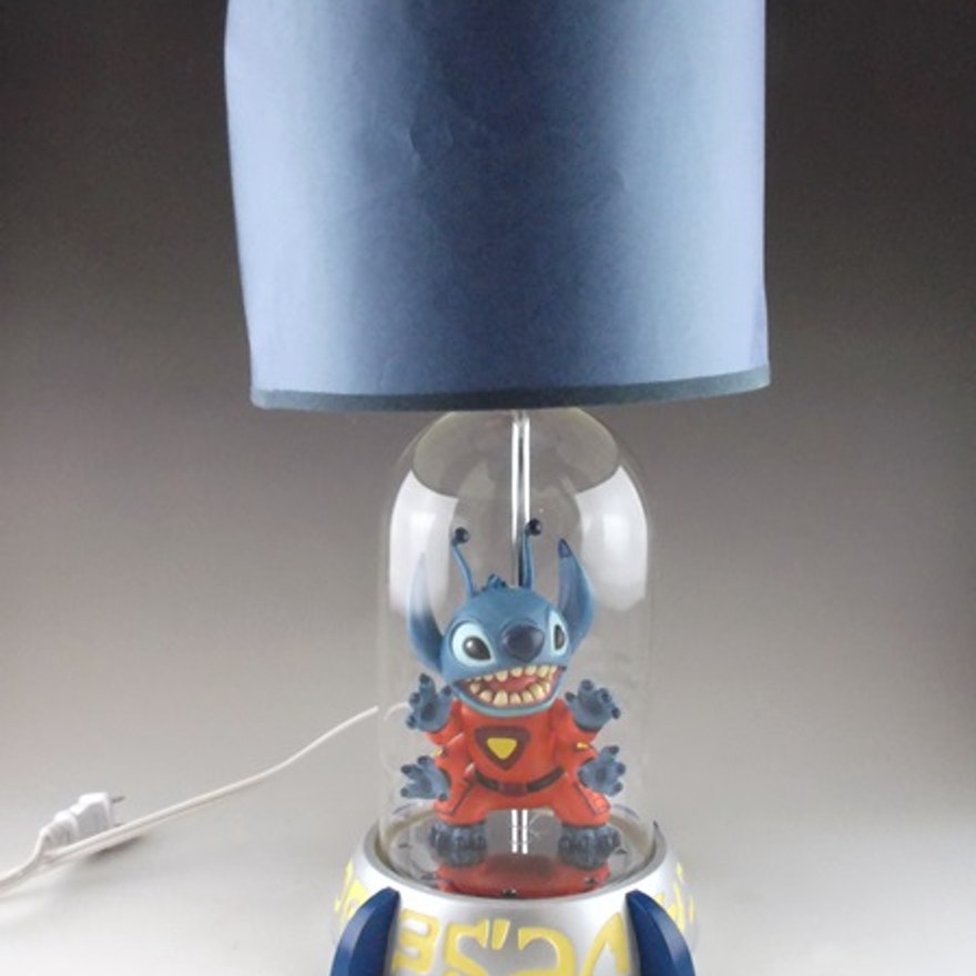 Disney stitch bed side lamp ebth disney stitch bed side lamp mozeypictures Images