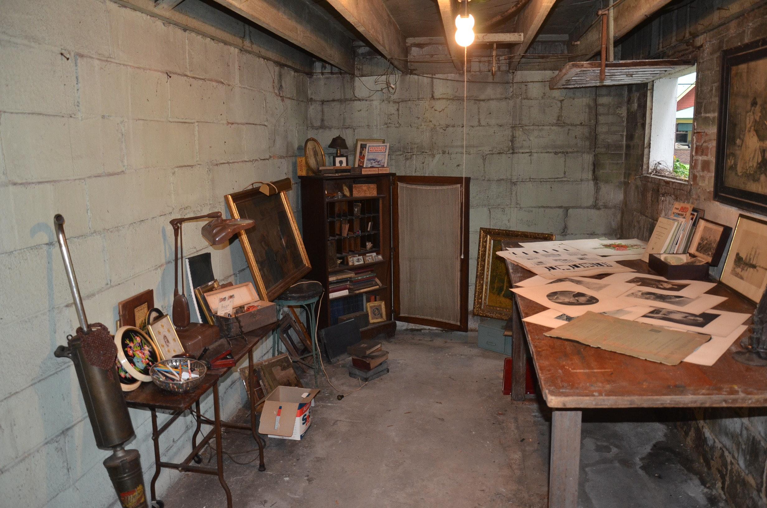 Basement Discovery Area No. 2 : EBTH