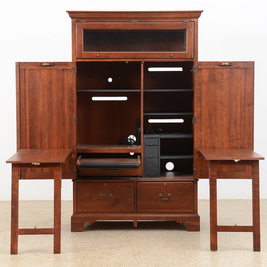 Lexington Furniture Computer Desk Armoire : EBTH