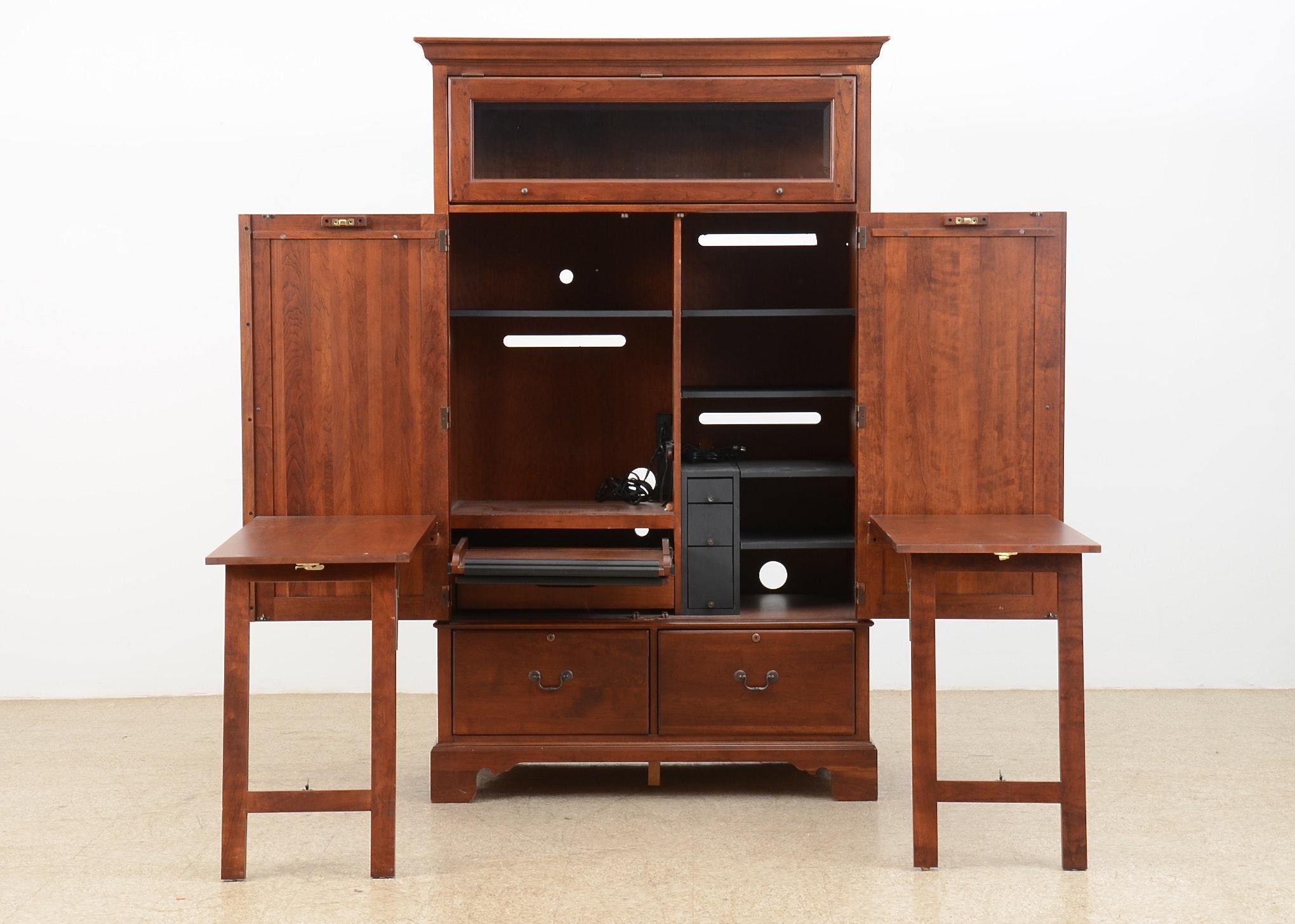 Lexington Furniture Computer Desk Armoire ...