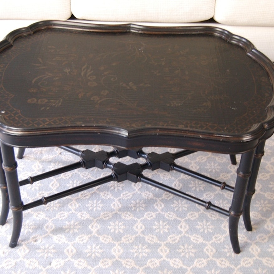 Ethan Allen Tuscan Coffee Table: Ethan Allen Mirabelle Chinoiserie Coffee Table