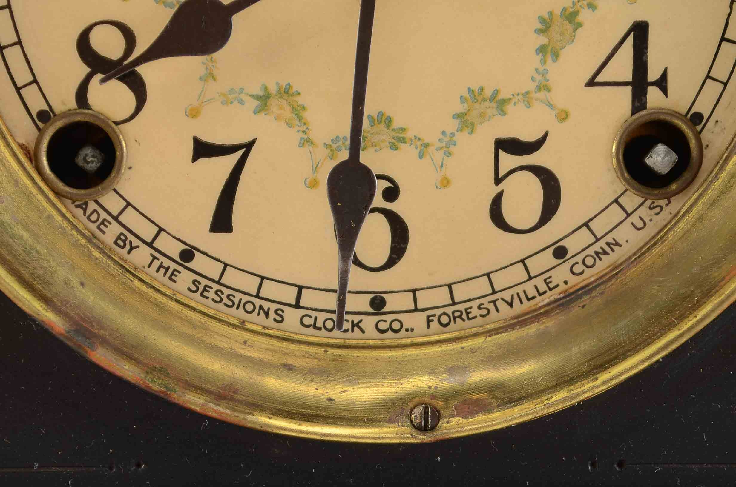 Early 20th Century Sessions Mantel Clock : EBTH