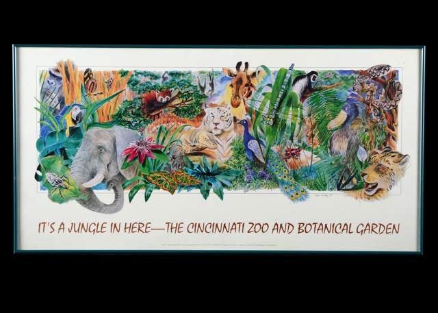 1994 Cincinnati Zoo And Botanical Gardens Poster ...