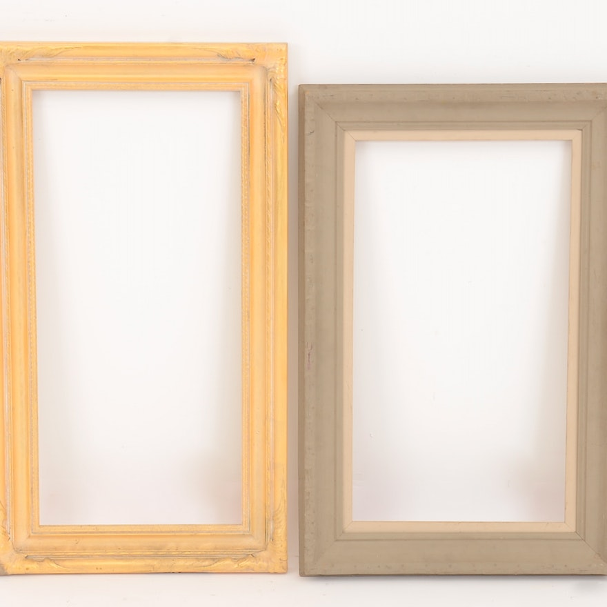 Two Open Back Picture Frames : EBTH