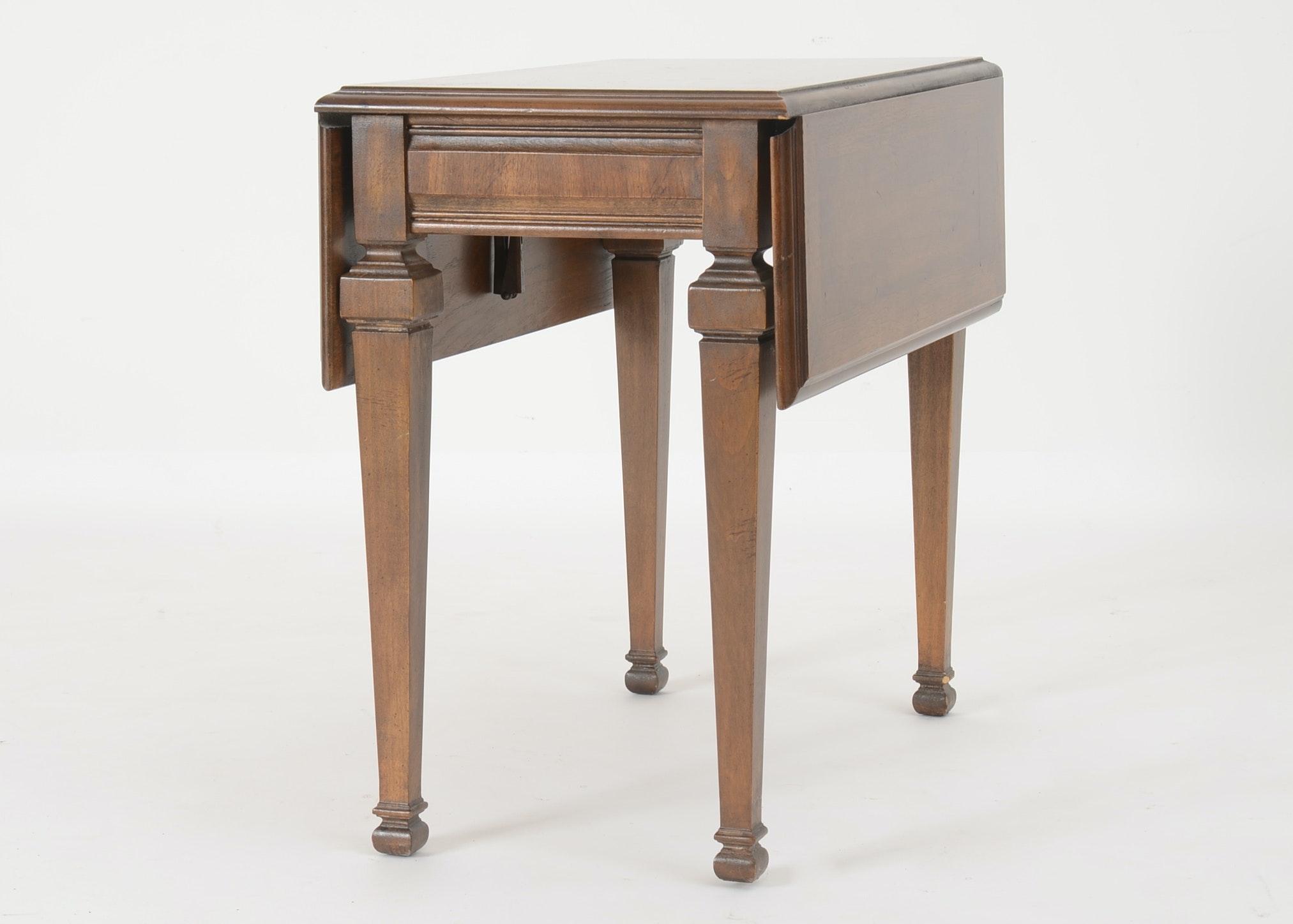 Vintage Drop Leaf Side Table By Lane Furniture Ebth