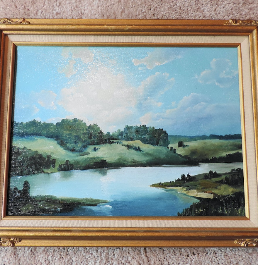 Todd price oil painting ebth for Oil paint price