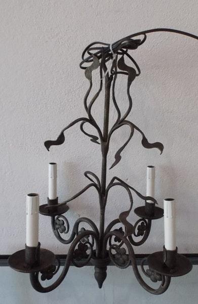 ironware lighting. Ironware International French Inspired Cast Iron Chandelier Lighting A