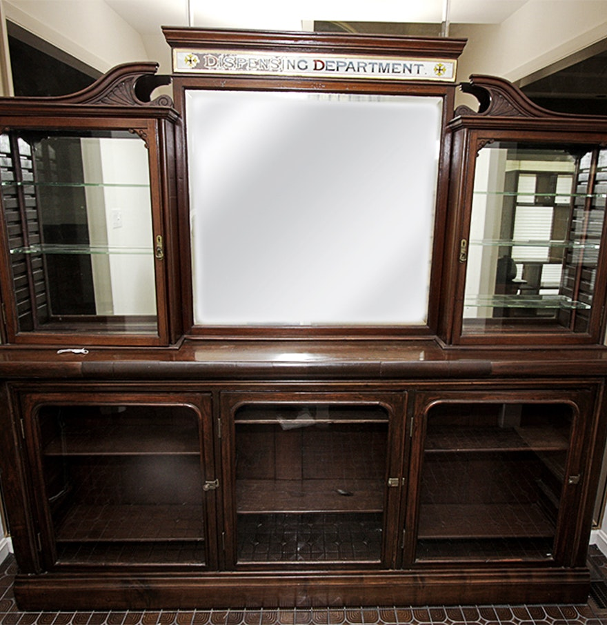 Antique Apothecary Cabinet Antique Apothecary Cabinet Ebth