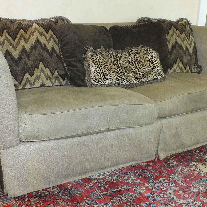 Custom Large Sofa From Closson S Of Cincinnati