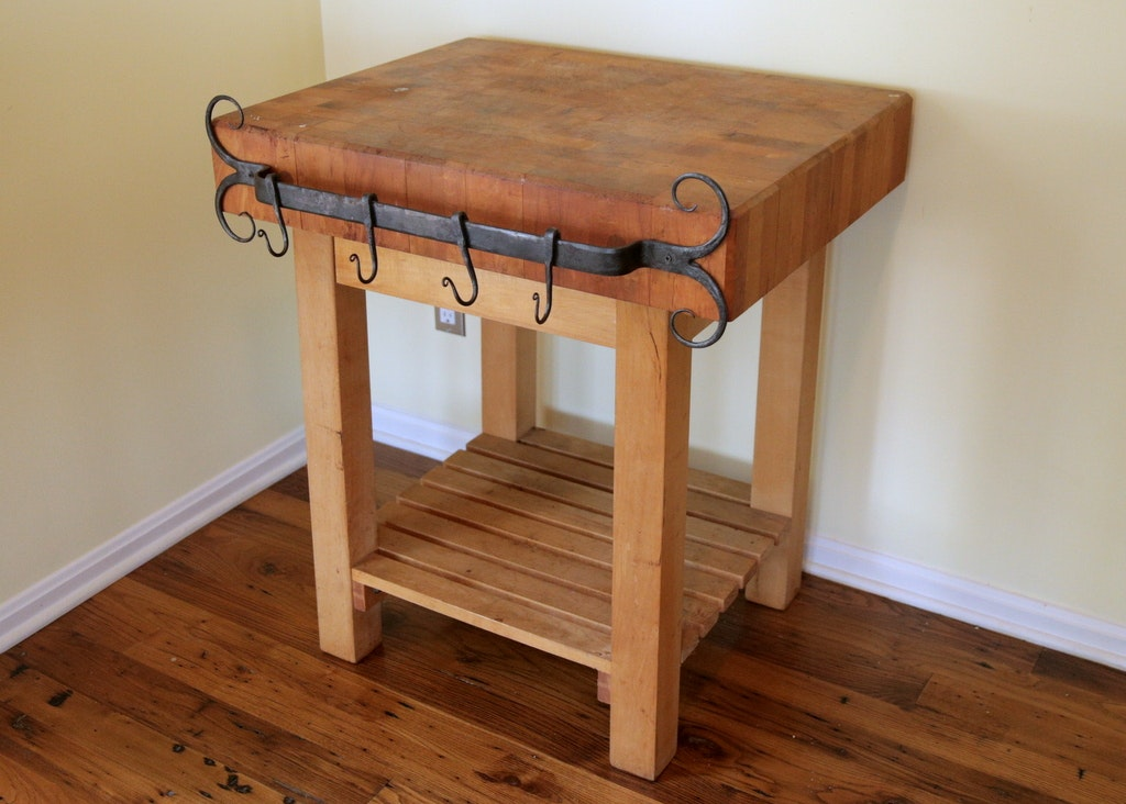 Pro Chef By John Boos Butcher Block Table