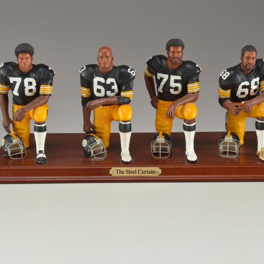 Pittsburgh Steelers Danbury Mint Steel Curtain Figures