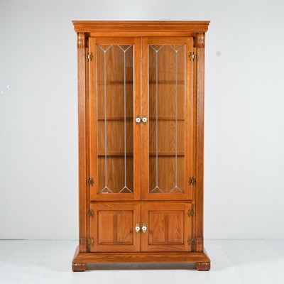 cabinets interesting cabinet for a hardware decorating hutch mouldi from crown antique corner cute mahogany base to arching oak mission sale china an